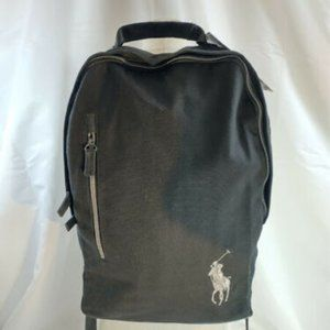 Ralph Lauren Polo Backpack Black New with …